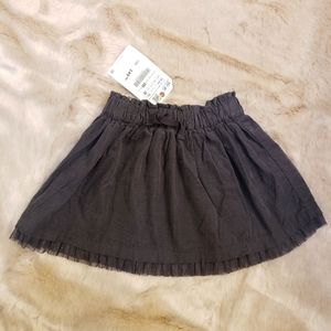 NEW WITH TAGS Zara skirt, size 18 months